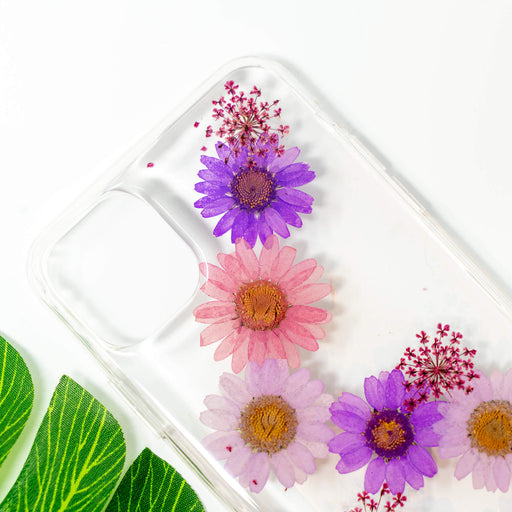 Calfuray | Pressed Flower iPhone Bumper Case | iPhone 11 Pro Max