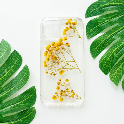 Sunshine | Pressed Flower iPhone Bumper Case | iPhone 12