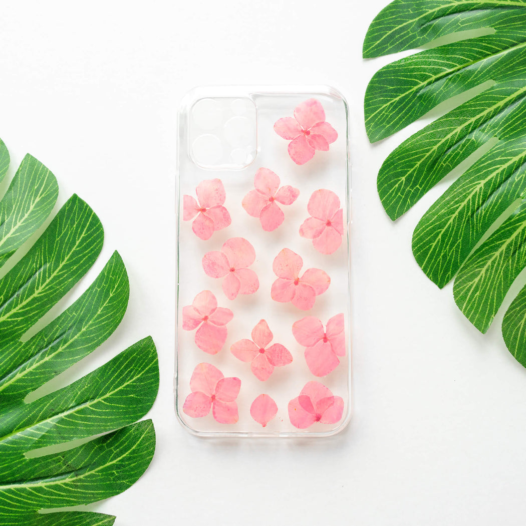 Coralyn | Pressed Flower iPhone Bumper Case | iPhone 12 Pro