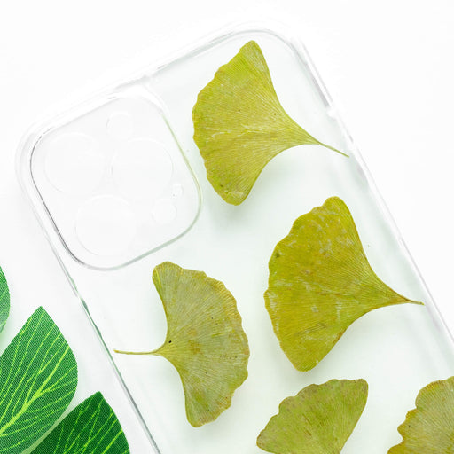 Green Ginkgo | Pressed Flower iPhone Bumper Case | iPhone 12 Pro Max