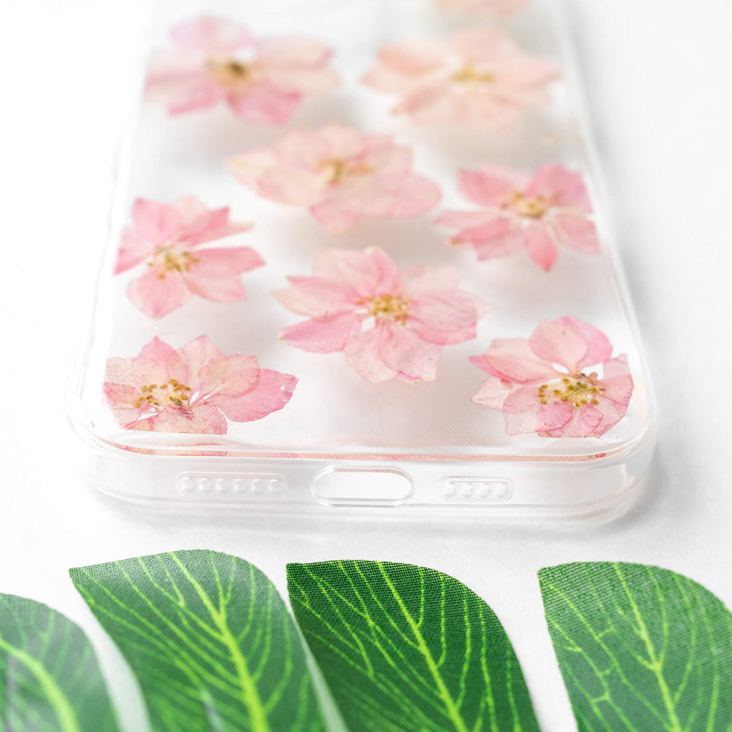 Sakura | Pressed Flower iPhone Bumper Case | iPhone 12 Pro Max