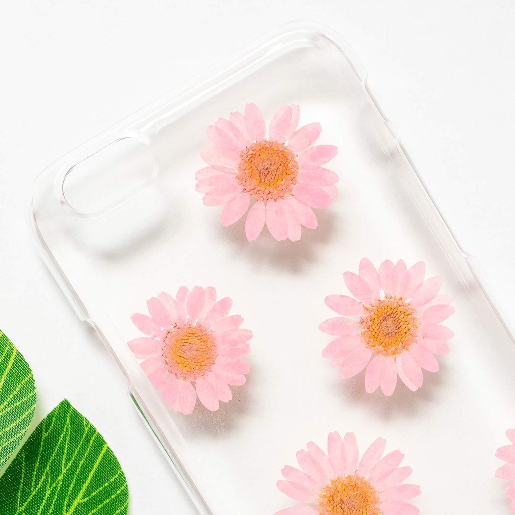 So Peachy | Pressed Flower iPhone Case | iPhone 6/6s