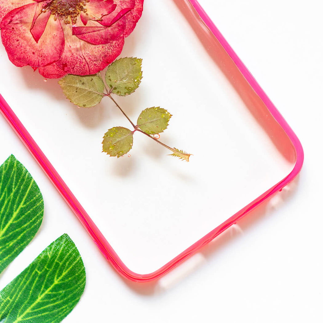 Single Bloom | Pressed Flower iPhone Bumper Case | iPhone 6/6s Plus