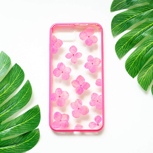 Orchid | Pressed Flower iPhone Bumper Case | iPhone 7/8 Plus