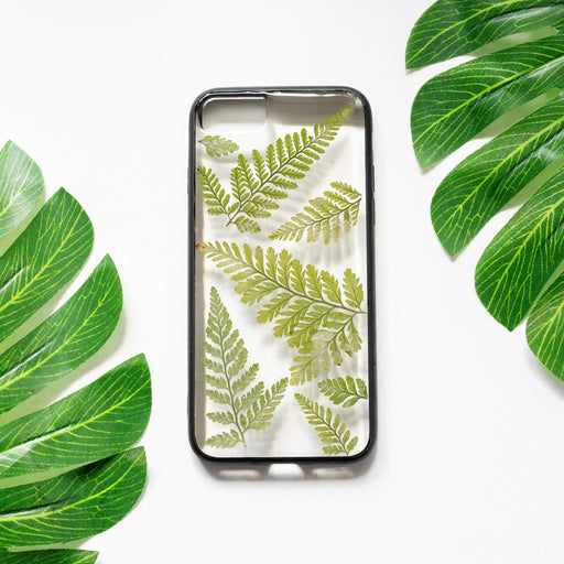 Fern | Pressed Flower iPhone Bumper Case | iPhone 7/8/SE