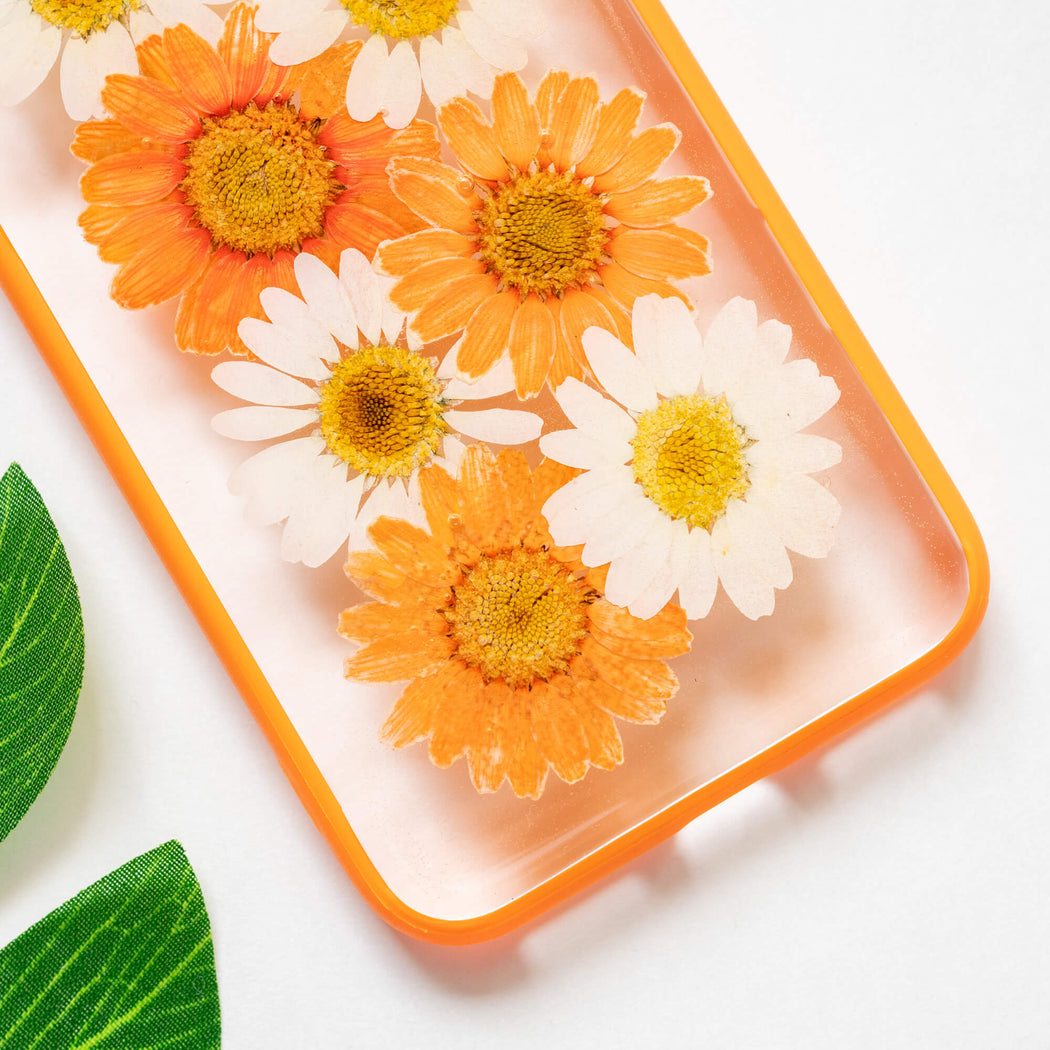 Aurelia | Pressed Flower iPhone Bumper Case | iPhone 7/8/SE
