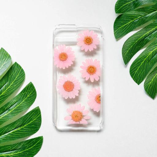 Peach | Pressed Flower iPhone Case | iPhone 7/8/SE