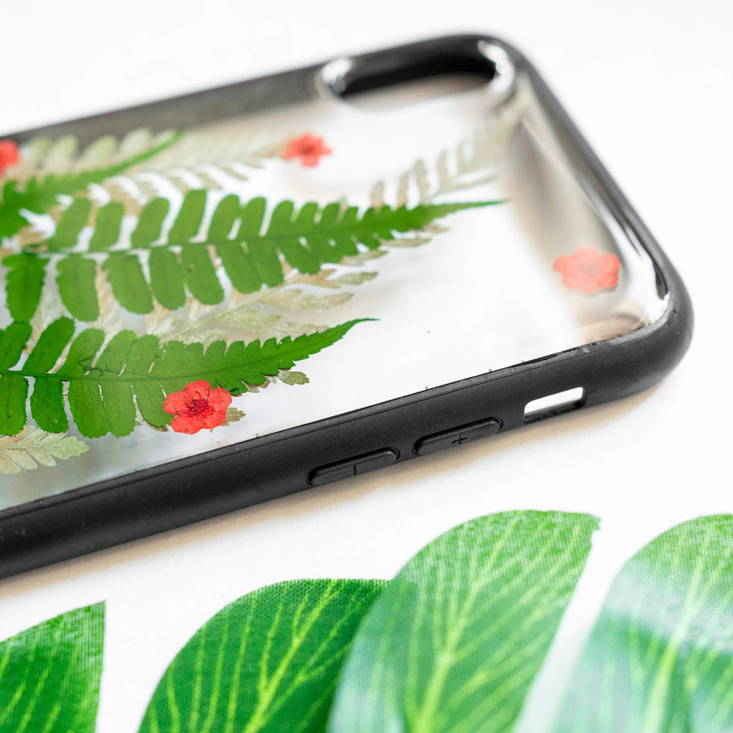 Jolly | Pressed Flower iPhone Bumper Case | iPhone X/XS