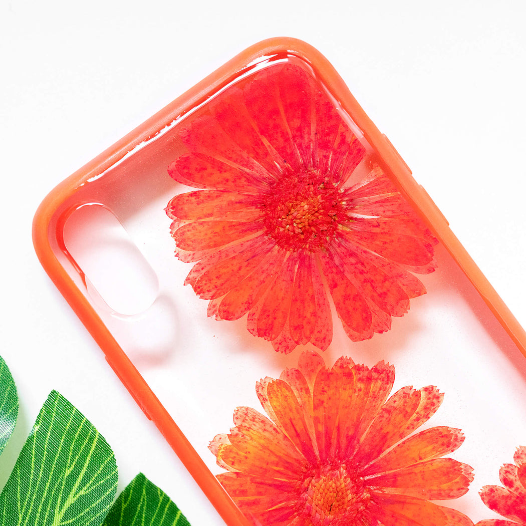 Poppy | Pressed Flower iPhone Bumper Case | iPhone X/XS