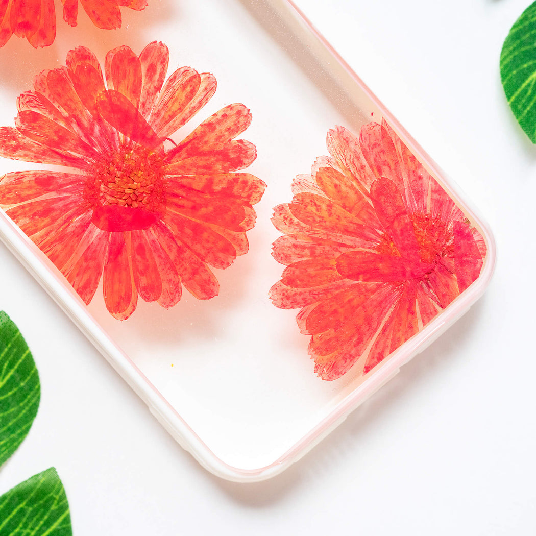 Candy Apple | Pressed Flower iPhone Bumper Case | iPhone XR