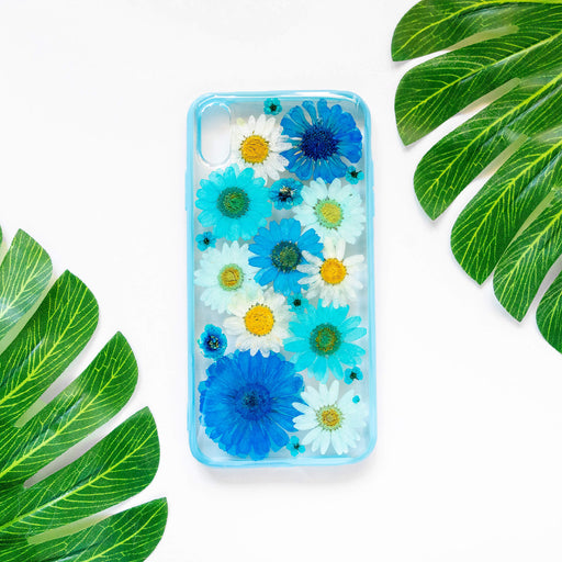 Royal | Pressed Flower iPhone Bumper Case | iPhone XS Max