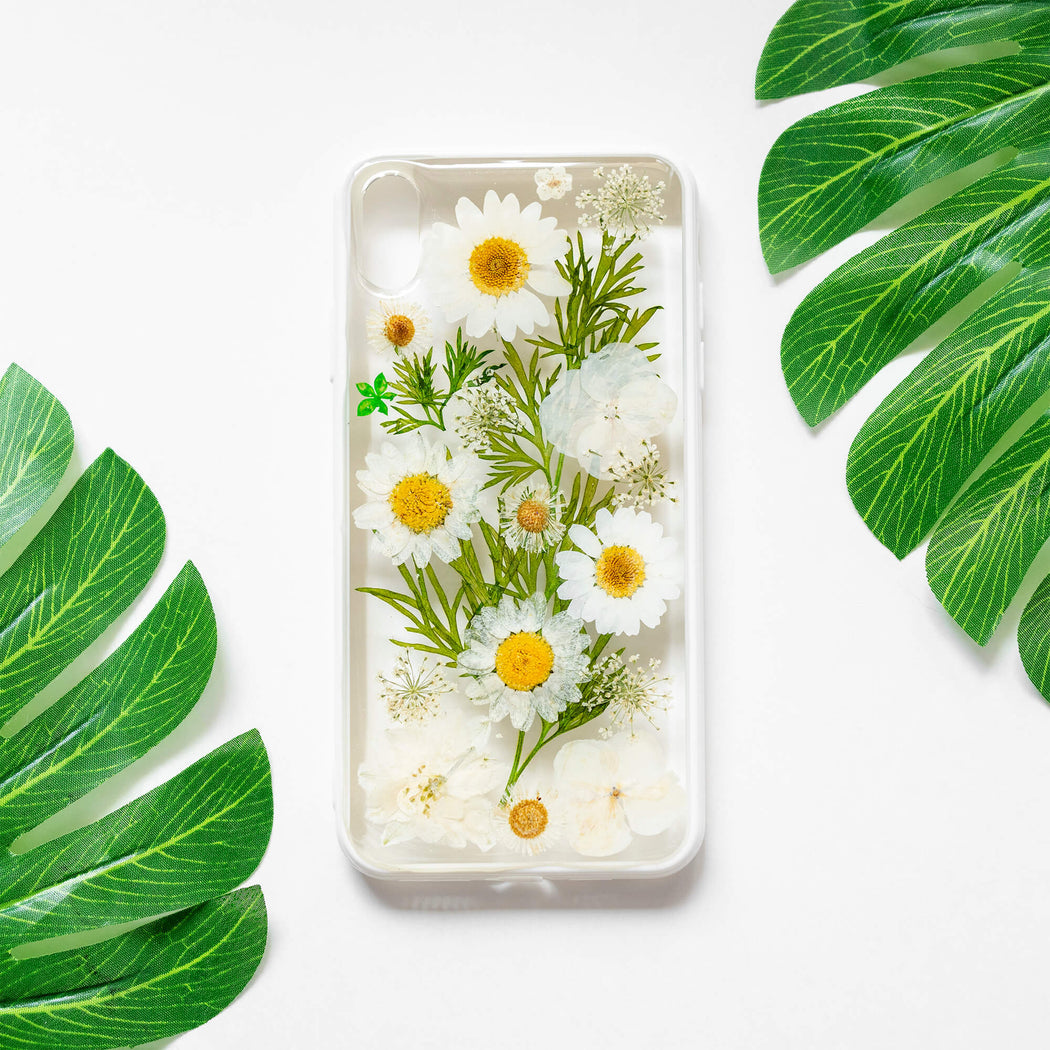 Summer | Pressed Flower iPhone Bumper Case | iPhone XS Max
