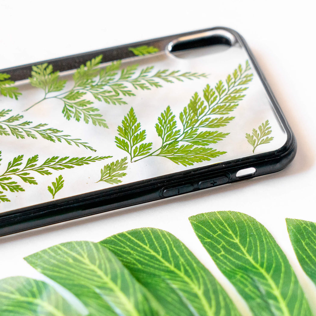 Meadow | Pressed Flower iPhone Bumper Case | iPhone XS Max