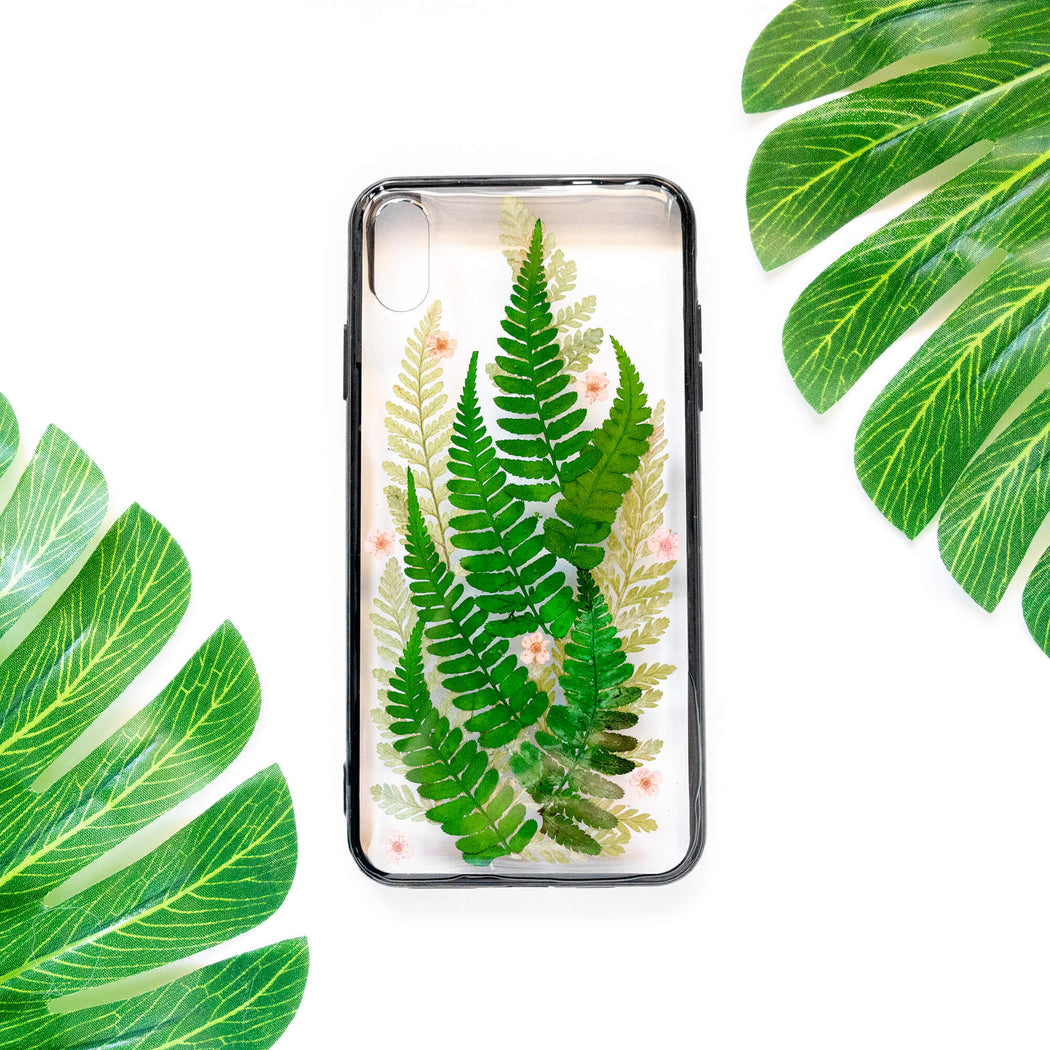 Laurel | Pressed Flower iPhone Bumper Case | iPhone XS Max