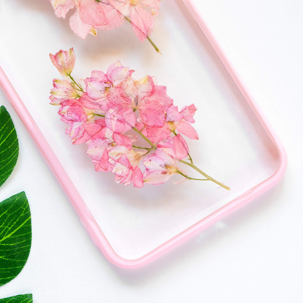 Blossom | Pressed Flower iPhone Bumper Case | iPhone XS Max