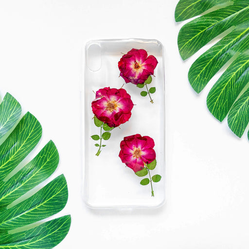 Roseland | Pressed Flower iPhone Bumper Case | iPhone XS Max