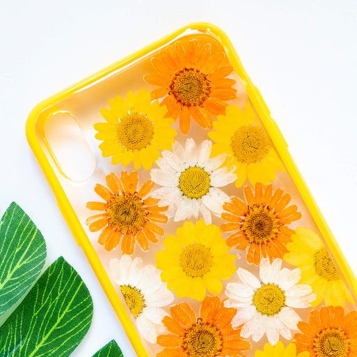 Saphron | Pressed Flower iPhone Bumper Case | iPhone XS Max