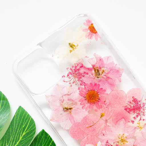 Linnea | Pressed Flower iPhone Bumper Case | iPhone 11
