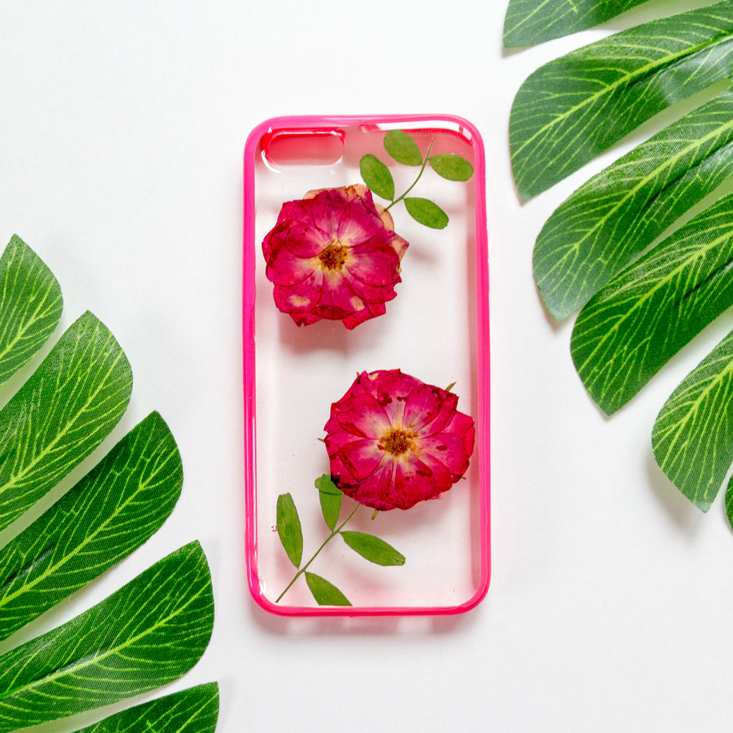 Roseland | Pressed Flower iPhone Bumper Case | iPhone 5/5s/SE