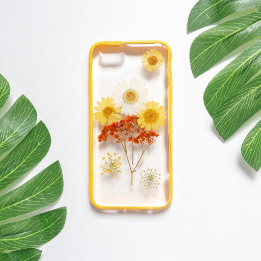 Walking On Sunshine | Pressed Flower iPhone Bumper Case | iPhone 6/6s