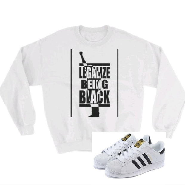 LEGAL BLACK MAN Sweatshirt