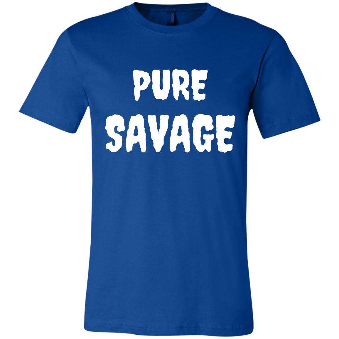 PURE SAVAGE Unisex Jersey Short-Sleeve T-Shirt