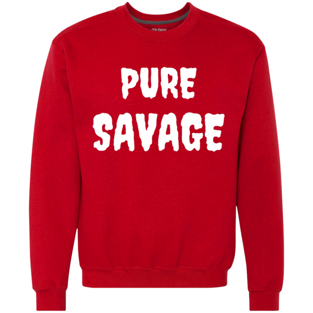 PURE SAVAGE Heavyweight Crewneck Sweatshirt 9 oz.
