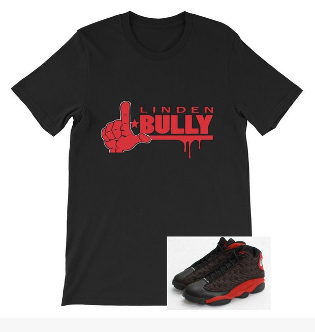 Bully Tee Black/Red