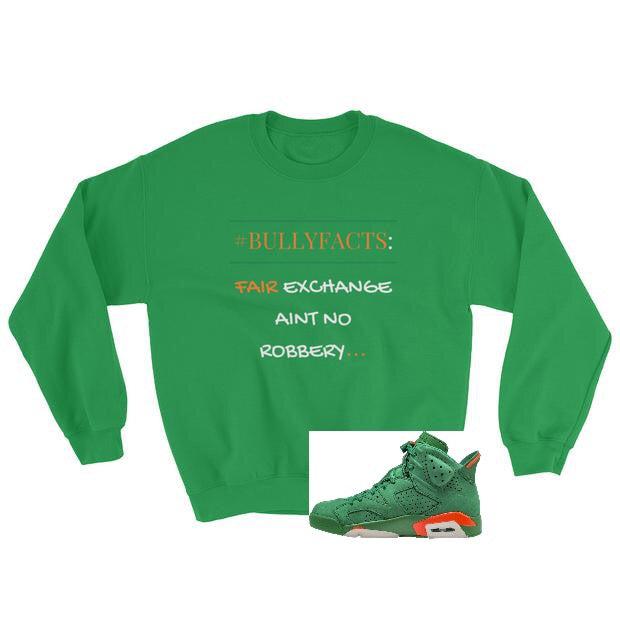 FAIR EXCHANGE GREEN Sweatshirt