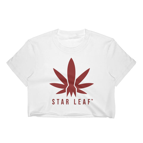 STAR LEAF Women's Logo Crop Top