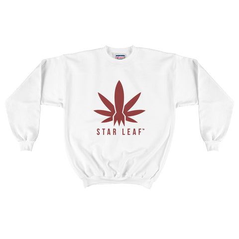 STAR LEAF Logo Men's Crewneck Sweatshirt