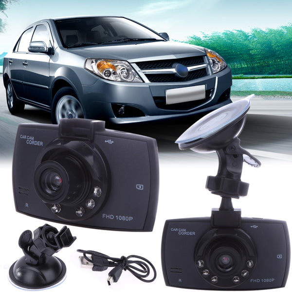 "2.4"" Car Digital Video Recorder 120 Degree LCD, DVR Camcorder Night Vision"