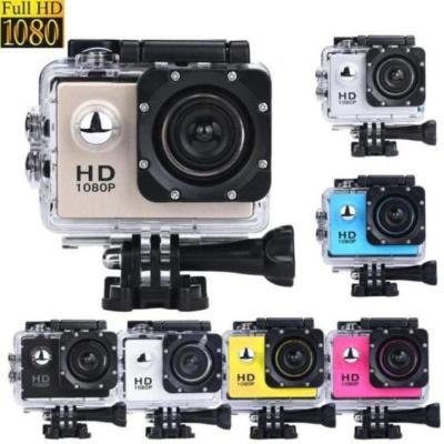 2 inches Mini Waterproof Sports Camera 1080P HD,  For Sports and High Quality Videos.