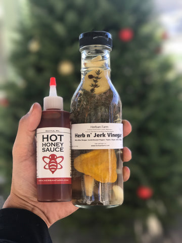 Hot Honey X Herb n' Jerk Vinegar
