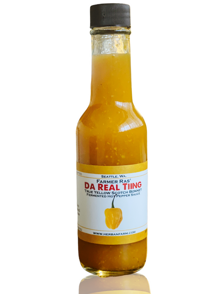 Da Real Tiing Hot Pepper Sauce