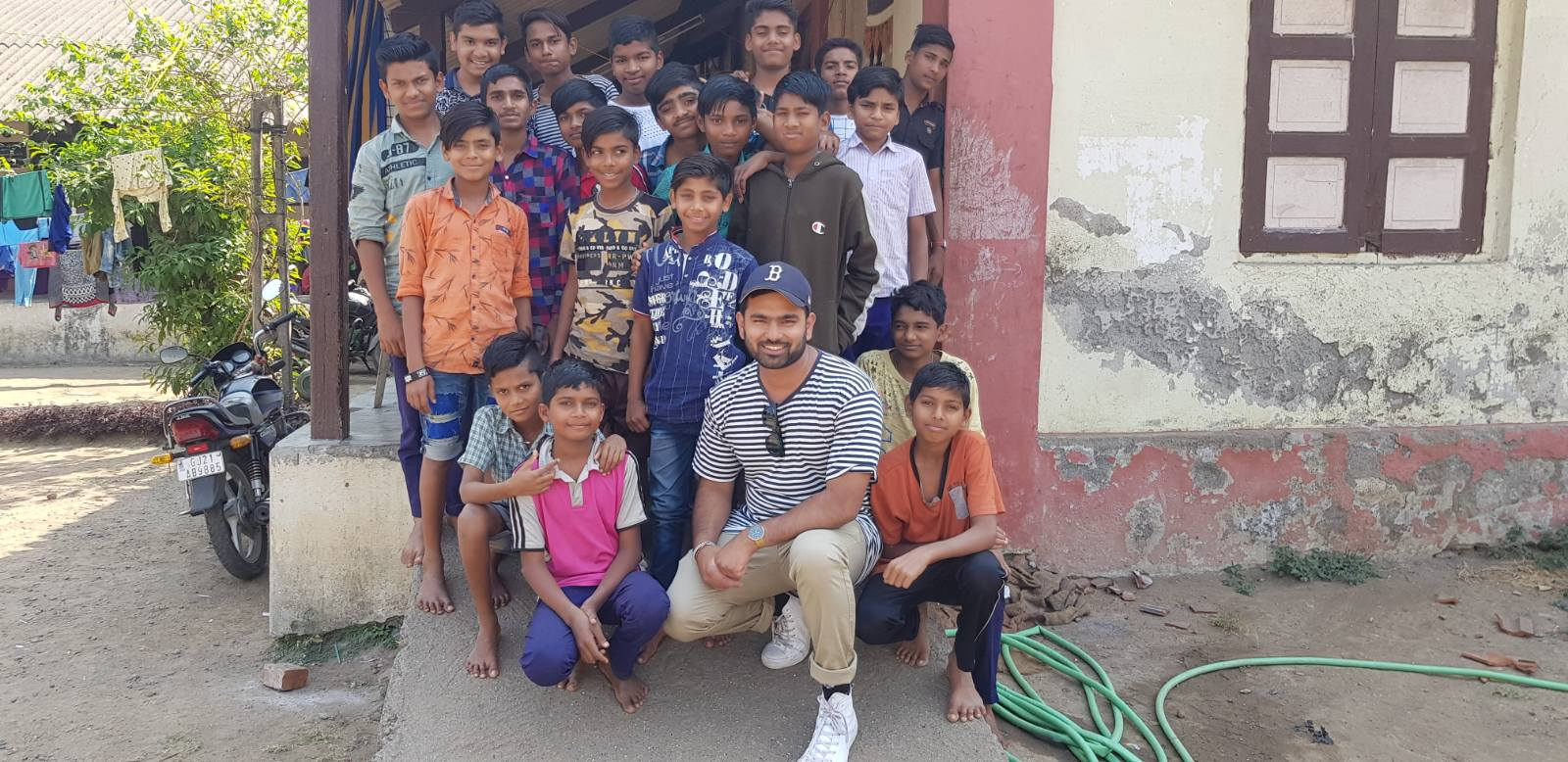 Sanjay in Orphanage