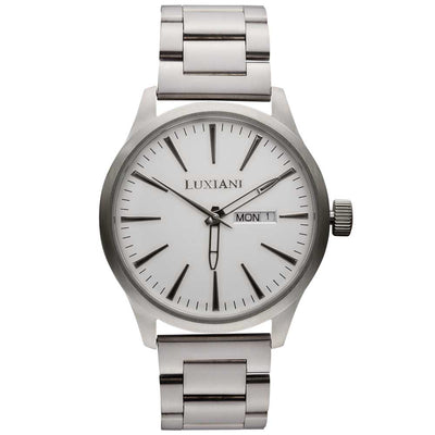 Sunday - elegant silver watch