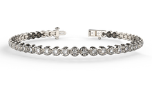 2.00 carat classic diamond tennis bracelet - Australian Diamond Network