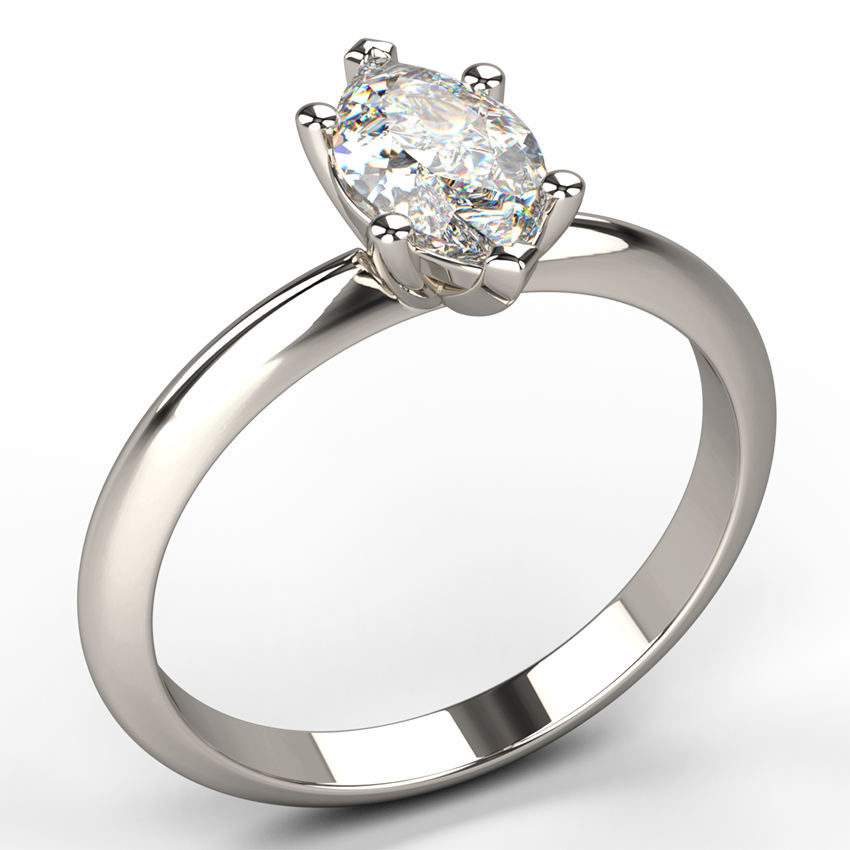 diamond edge knife marquee marquise claw solitaire engagement ring in australian network a products