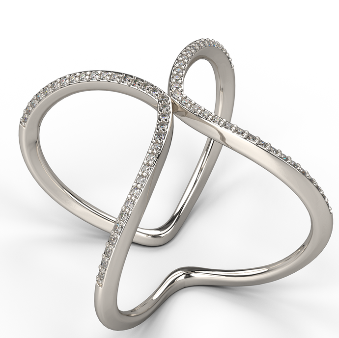 applaud diamond dress ring