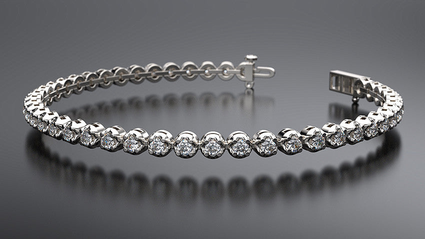 2 carat diamond tennis bracelet - Australian Diamond Network