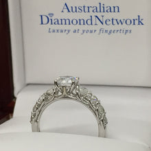 Diamond Engagement Ring - Australian Diamond Network
