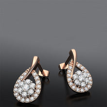 Tear Drop Diamond Earrings In 9k Or 18k Gold - Australian Diamond Network