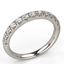 expression de l'amour diamond wedding ring white gold - Australian Diamond Network