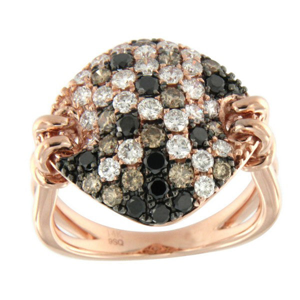 fawn diamond dress ring in rose gold from Australian Diamond Network