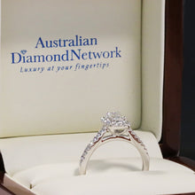 emerald cut diamond engagement ring - Australian Diamond Network