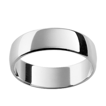 White Gold Comfort Fit Mens Wedding Ring – Australian Diamond Network