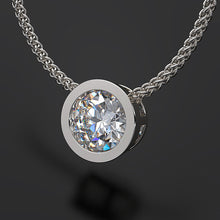 diamond pendant necklace - Australian Diamond Necklace