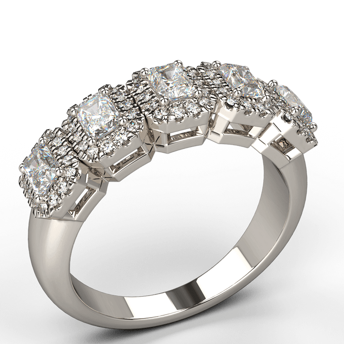 radiance diamond dress ring