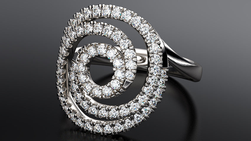 Origo Diamond Ring - Australian Diamond Network